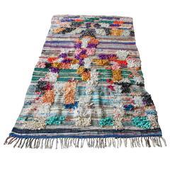 Moroccan Boucherouite Kilim Rug