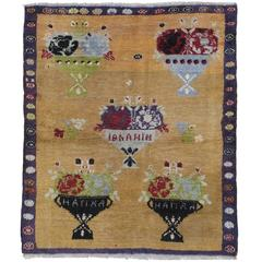 """Five Bouquet"" Tulu Rug"