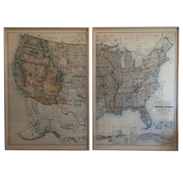 Map of United States Territories and Insular Possesssions, circa ...
