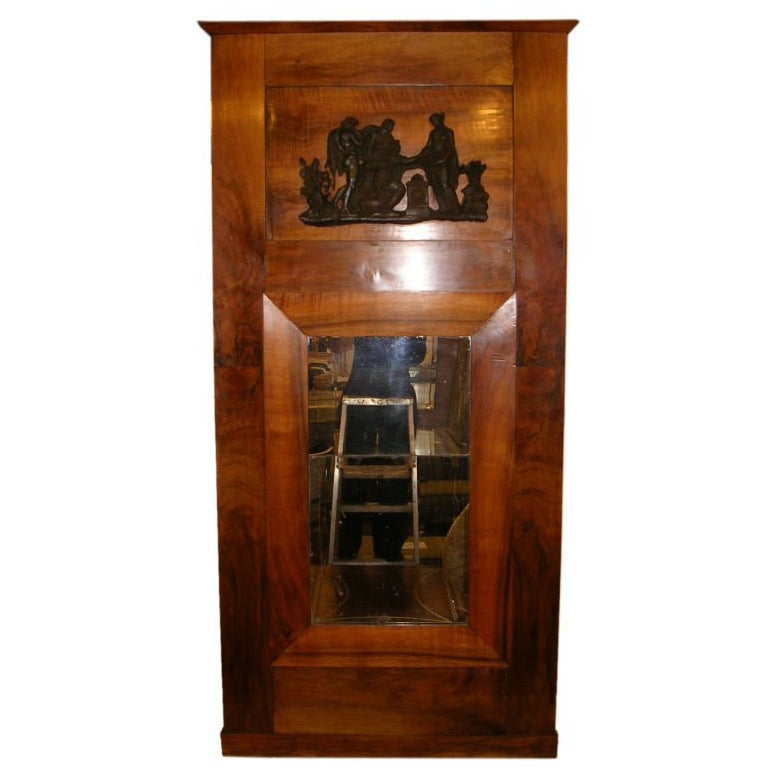 19th Century Northern European Neoclassical Style Pier Mirror