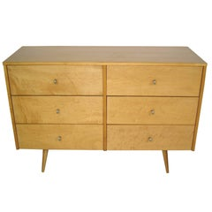 Paul McCobb for Planner Group Six-Drawer Dresser, Midcentury