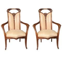 Pair of Louis Majorelle Armchairs
