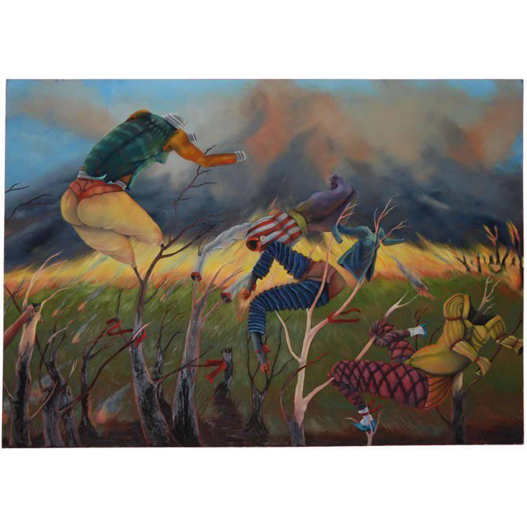 Eleanor Speiss-Ferris Oil on Canvas 1