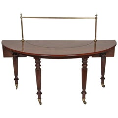 Regency Mahogany Drinks Table