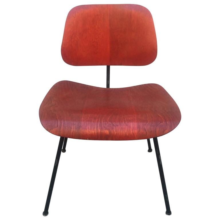 Early Herman Miller Red DCM For Sale