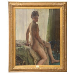 "Herman Richir Painting ""Elegie,"" circa 1932"