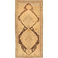 Decorative Gallery Size Tribal Antique Karabagh Rug