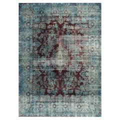 Simply Beautiful Overdyed Rug