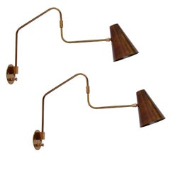 LU Swing Sconces by Lumfardo Luminaires