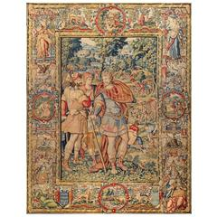 Brussels circa 1575 Cyrus Monumental Tapestry