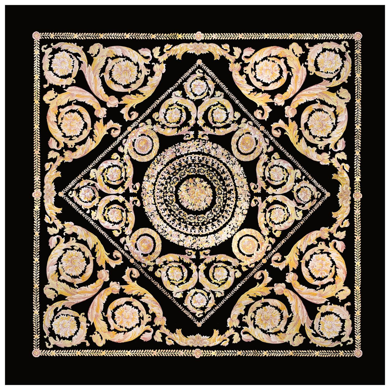 Western Inspired Rugs: Refined Contemporary Savonnerie Style Rug For Sale At 1stdibs