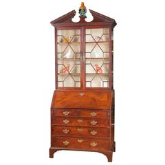 English Chippendale Secretary