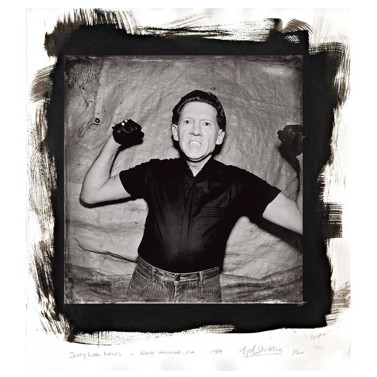 Jerry Lee Lewis Backstage, The Palomino Club, N.Hollywood by Nigel Dickson For Sale