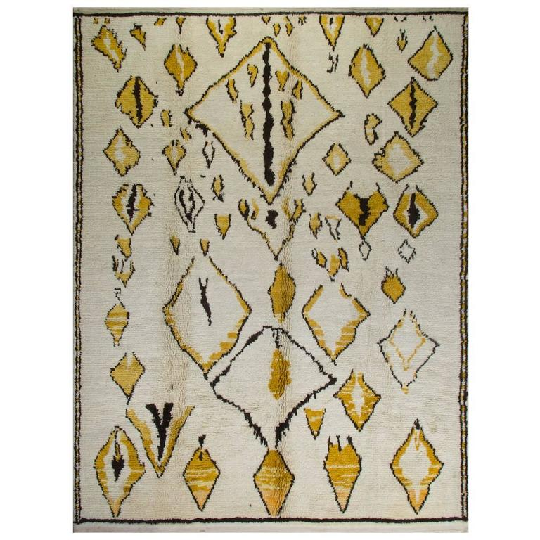 Bespoke Contemporary Moroccan Wool Rug