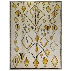 Bespoke Contemporary Moroccan Wool Rug