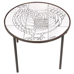 Side Table by Roger Capron, France, circa 1950