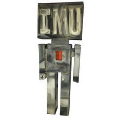 Ronn Jaffe's Iconic 'Holloman' Sculpture, I M U, 50 Shades of Grey