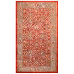 Oversized Antique Persian Sultanabad Rug