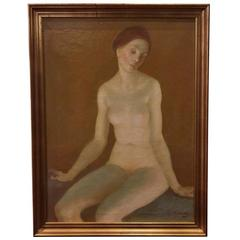 'Nude Study' by G. Von Swetlik, Signed and Dated 1977