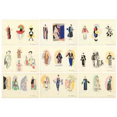 "Sonia Delaunay, ""Ses Peintures, Ses Objets, Ses Tissus Simultanes, Ses Modes"""
