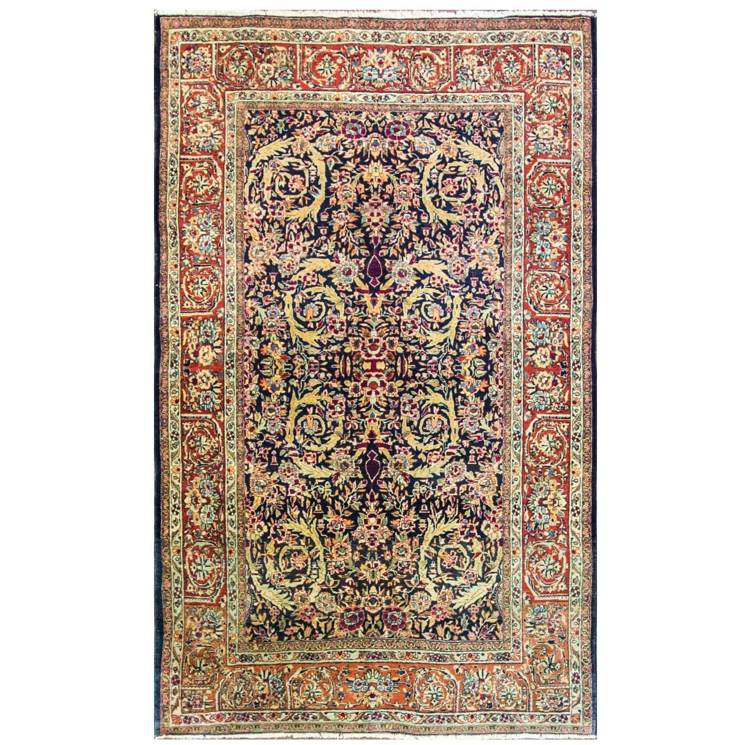 Royal Kashan Rug For Sale At 1stdibs