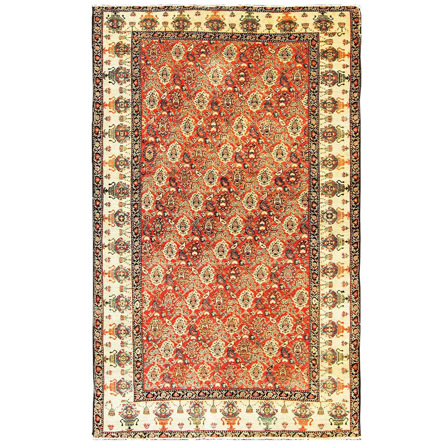 Antique Zel-I-Sultan Rug For Sale At 1stdibs