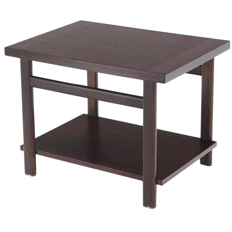 Mid Century Modern Walnut Side Table For Sale At 1stdibs