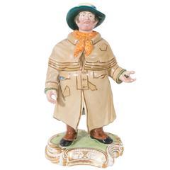 Nodding Head Figurine of Victorian Coachman