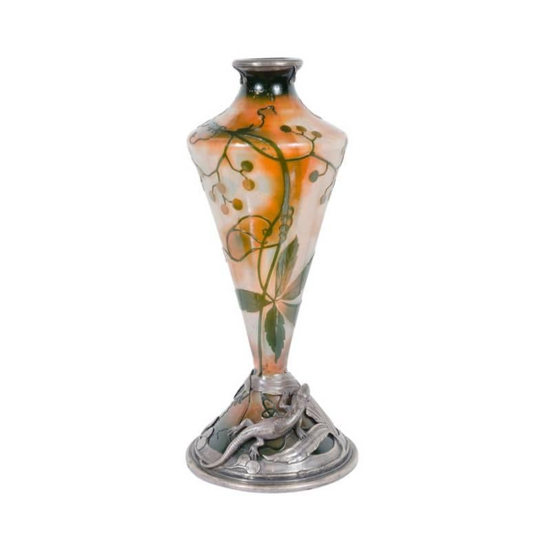 French Art Deco Nancy Daum Vase