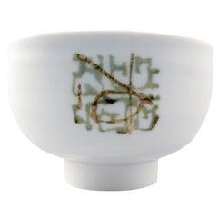 Unique Royal Copenhagen Ceramic Bowl by Nils Thorsson