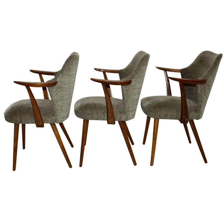 Mid Century Modern Armchair Attributed to Oswald Haerdtl