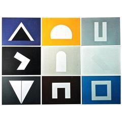 David Roth 'Negative Archetypes' Complete Set of Nine, Signed Edition 21/25