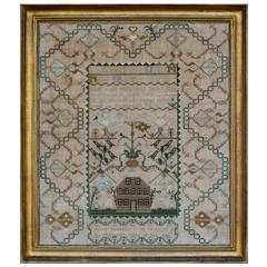 Schoolgirl Sampler, Cambridge, Massachusetts, Late 18th Century