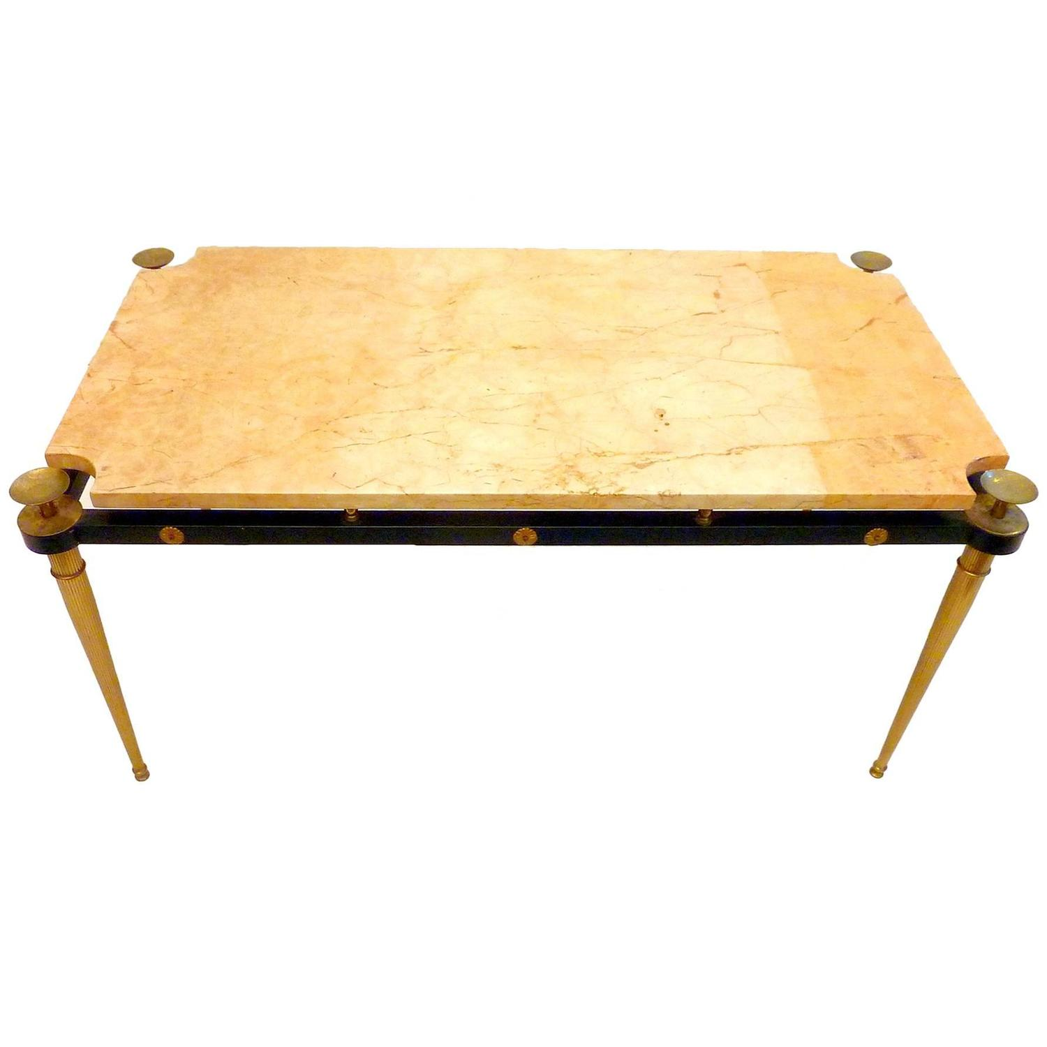 Italian 1950s Marble Coffee Table At 1stdibs