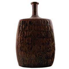 Large Stig Lindberg, Gustavberg Studio Pottery Vase, circa 1960