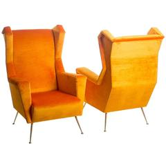 Pair of Armchairs 1950s Style