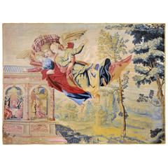 Paris 1680 History of Psyche, Rare Antique Tapestry