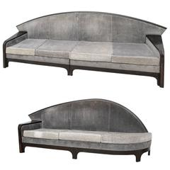 Pair of Sofas, Art Deco Inspiration