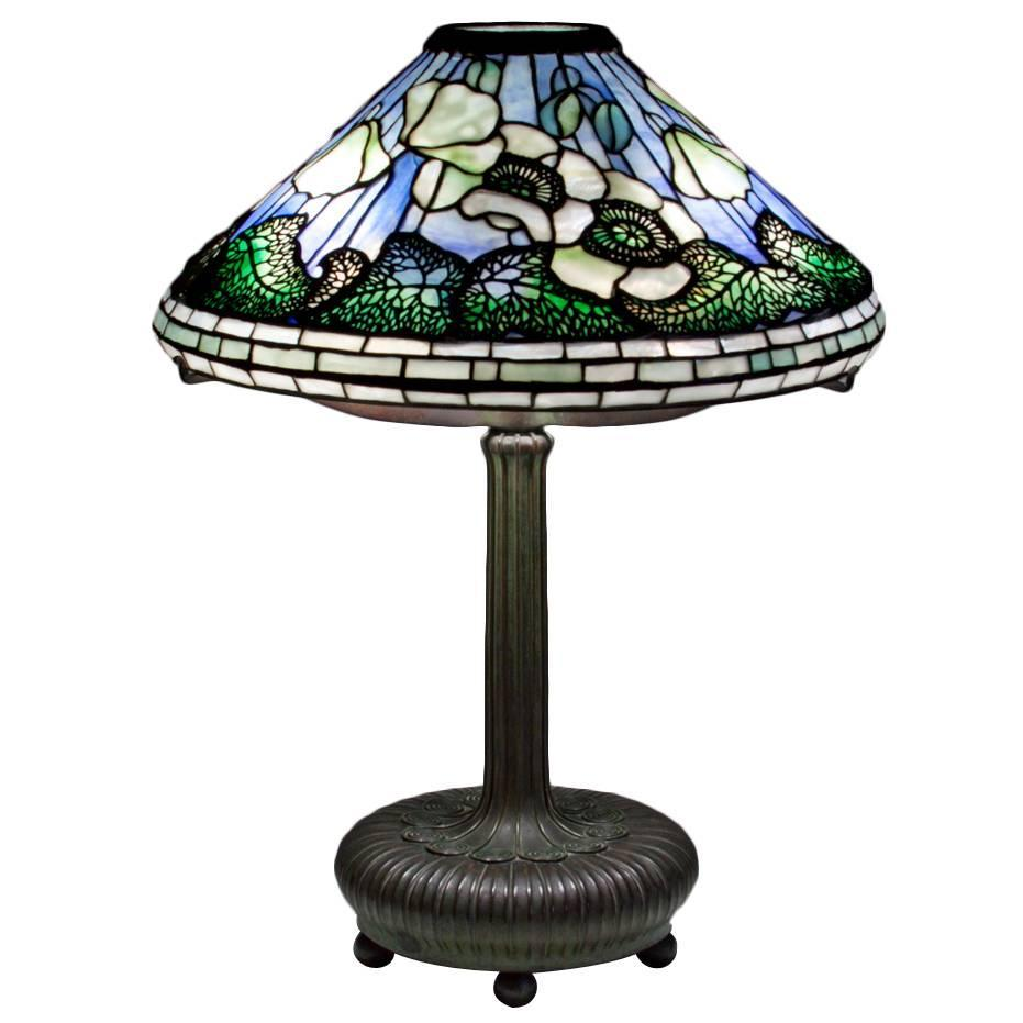 Tiffany Studios Poppy Table Lamp at 1stdibs
