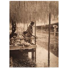 Japanese Carbon Print by Herbert George Ponting