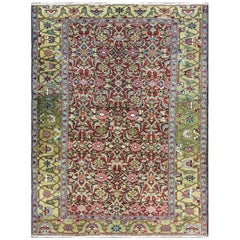 "Antique Persian Heriz/Serapi Rug, 4'10"" x 6'6"""
