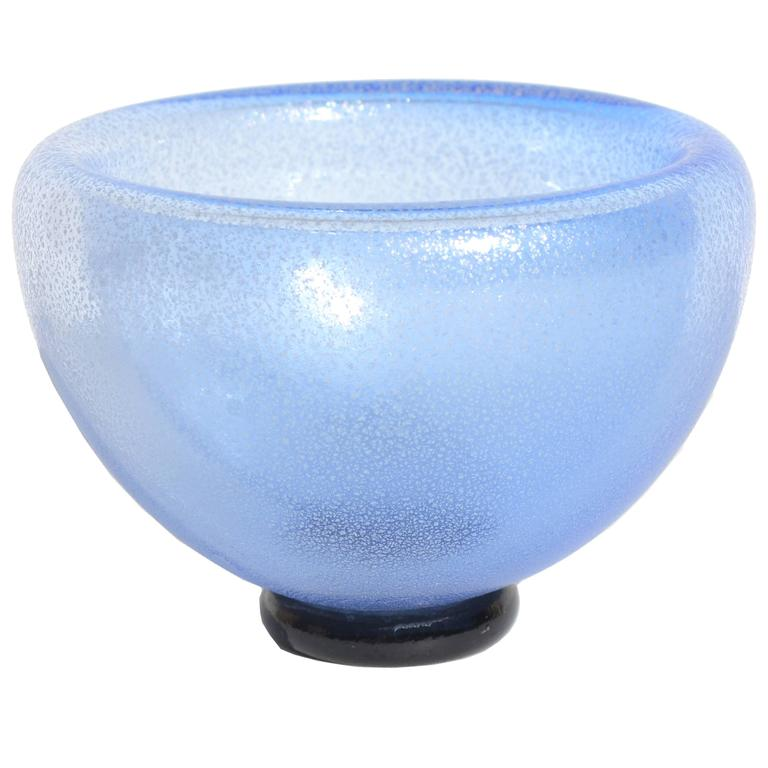 Double-Walled Blue Bowl