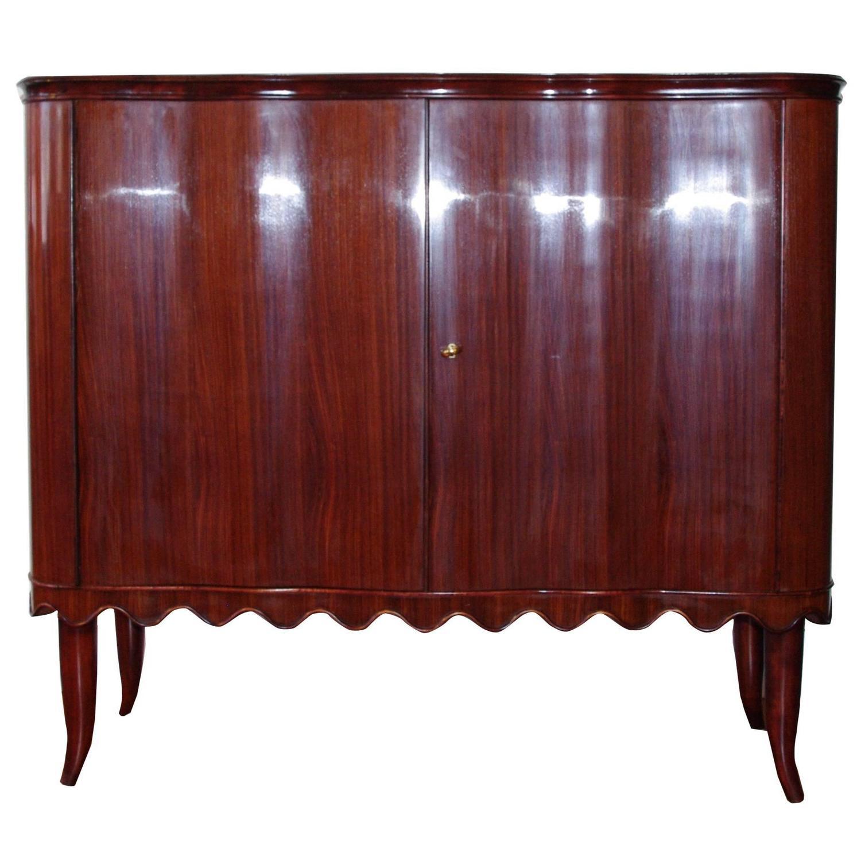 Elegant Italian Furniture elegant italian bar cabinetpaolo buffa for sale at 1stdibs