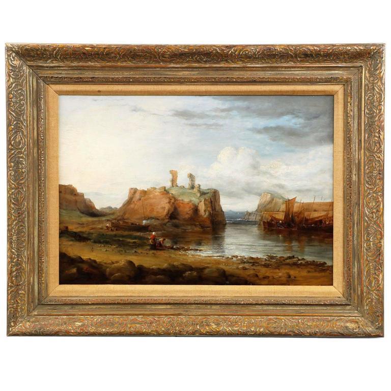 19th Century Scottish Antique Oil Painting Of Dunbar Watermelon Wallpaper Rainbow Find Free HD for Desktop [freshlhys.tk]