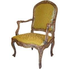 18th Century, Italian Venetian Armchair