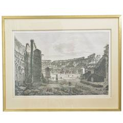Collection of Twelve Rossini Copper Plate Engravings