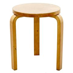 Alvar Aalto First Edition Wood Stool for Finmar, circa 1930