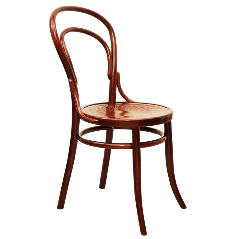 Bentwood Chairs Attributed to Thonet For Sale