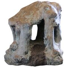 """Bronze Sculpture """"Chapelle de la Mémoire"""" by Catherine Val"""