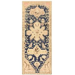 Tribal Antique Caucasian Karabagh Rug